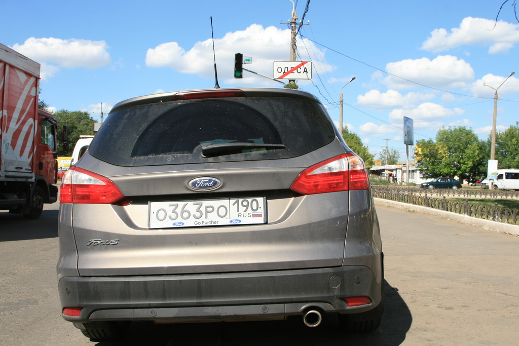 Ford Focus Wagon, Odessa