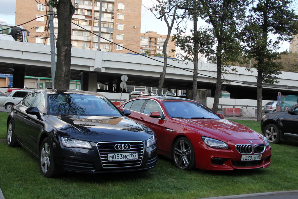 Audi A7, BMW 6 Gran Coupe