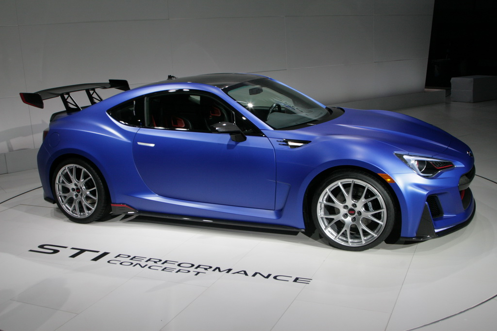 Субару BRZ STI New-York Motor Show 2015