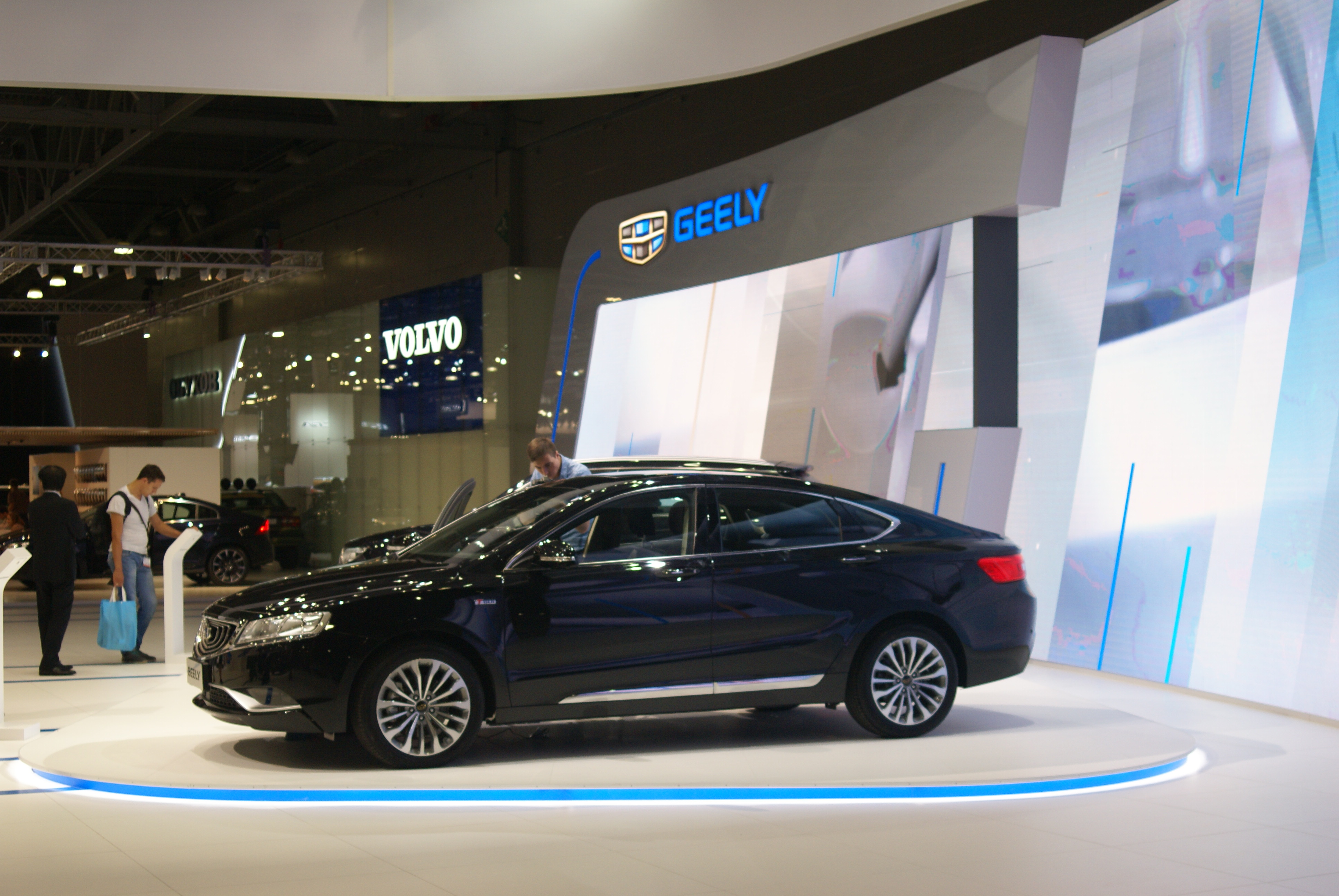 Geely Emgrand GT ММАС 2016