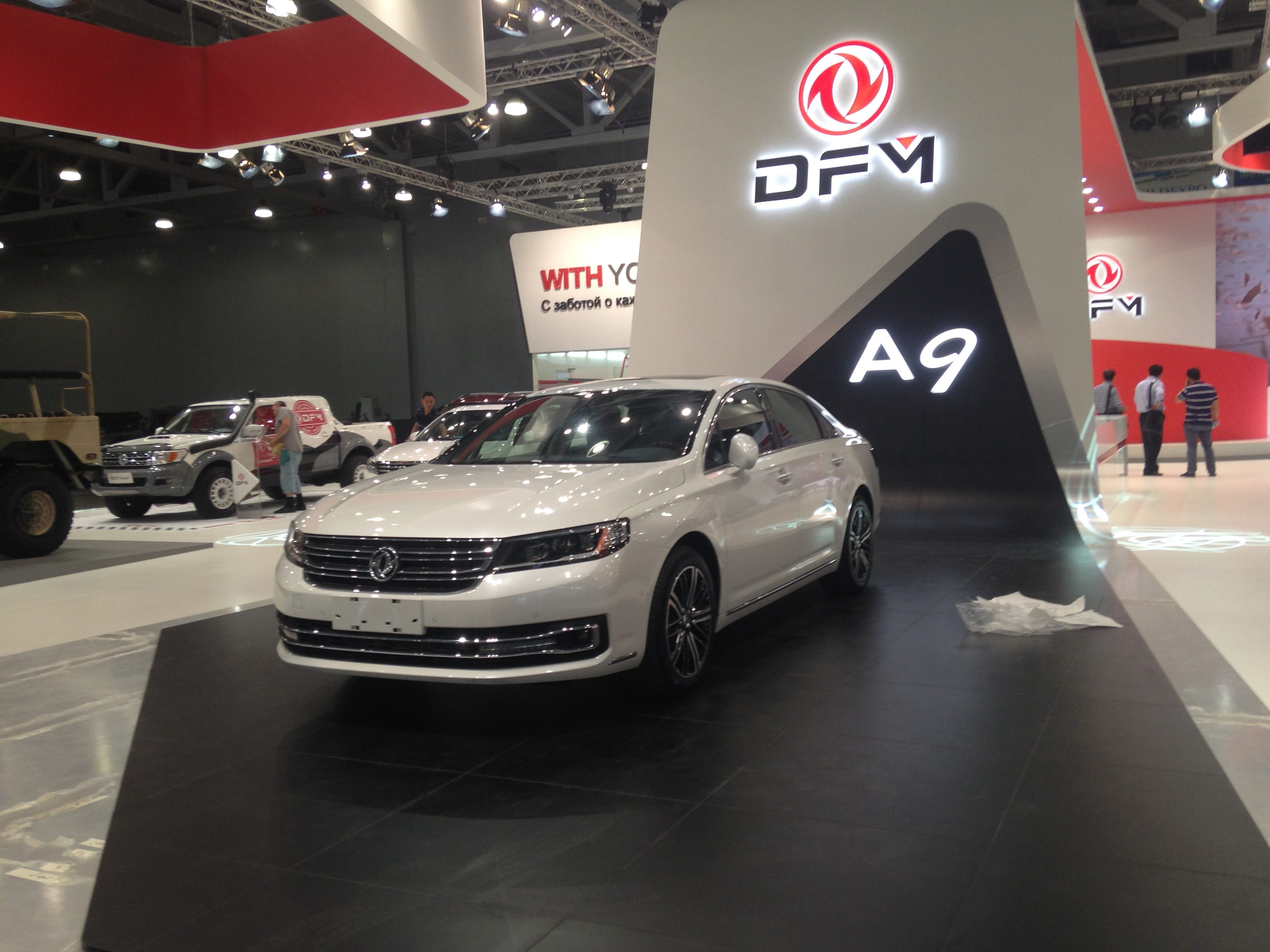 DongFeng A9 ММАС 2016