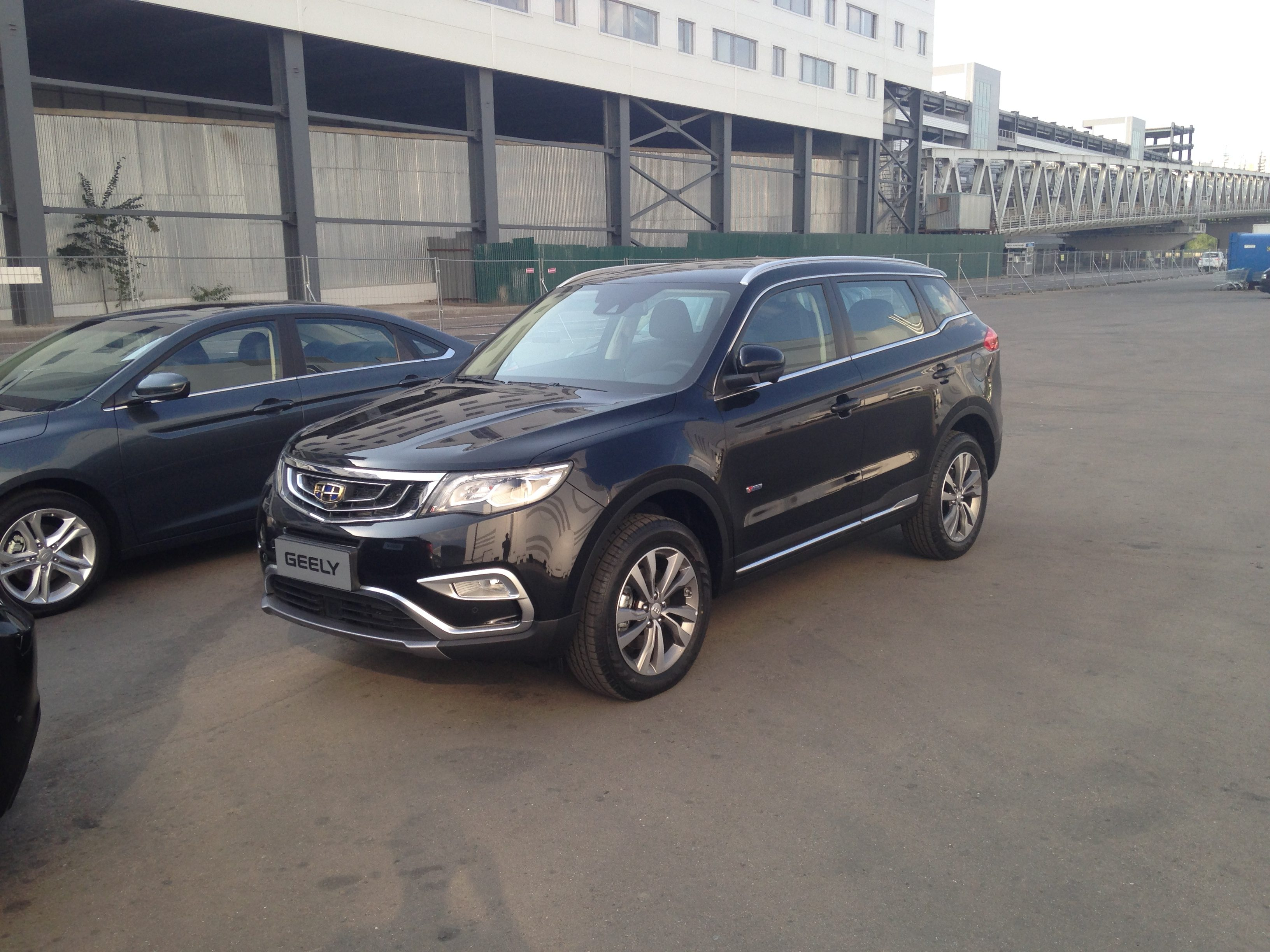 Geely Emgrand NL3 ММАС 2016