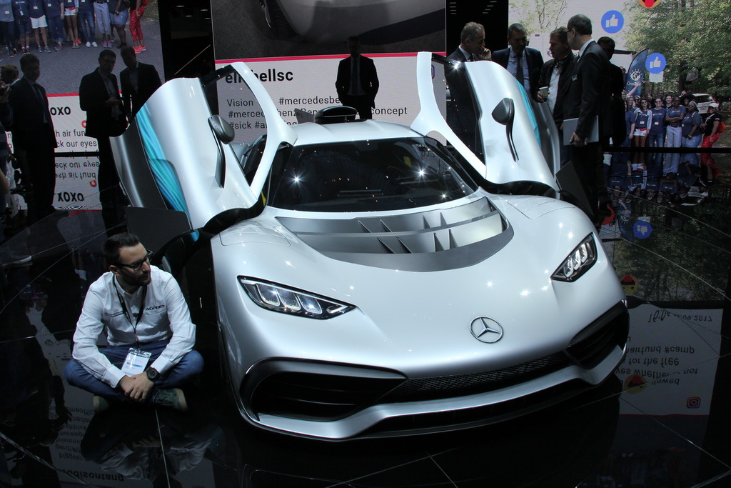 Mercedes-AMG Project One Frankfurt auto salon-2017